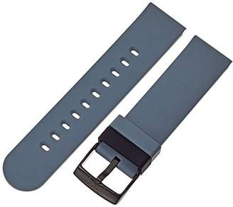 Hadley Roma b&nd by with MODE 22mm Silicone Grey Watch Strap