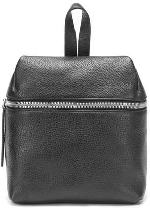 Kara Small Pebbled Leather Backpack