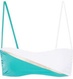 La Perla Color-Block Bandeau Bikini Top