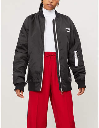 Boy London Fake shell bomber jacket