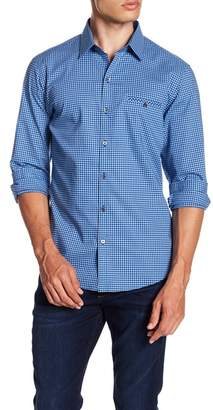 Zachary Prell Tolcado Gingham Print Shirt
