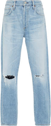 Citizens of Humanity M'O Exclusive Monogrammable Liya Distressed Jeans