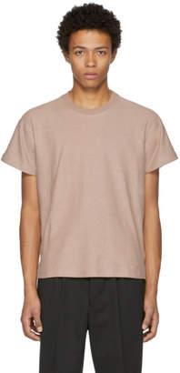 Fanmail Beige Boxy T-Shirt