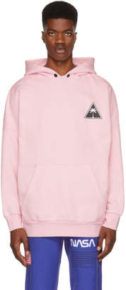 Palm Angels Pink Palm Icon Hoodie