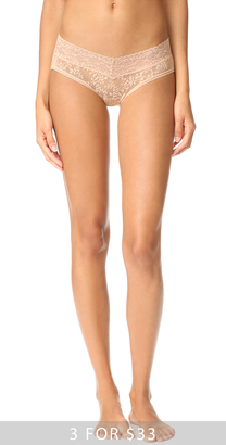 Calvin Klein Underwear Bare Lace Hipster Panties $13 thestylecure.com