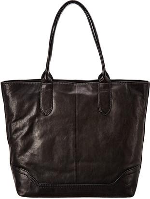 Frye Madison Zipper Leather Tote