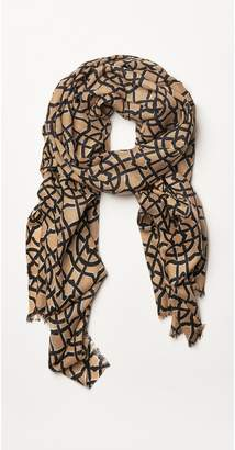 J.Mclaughlin Reed Scarf in Mini Scribe