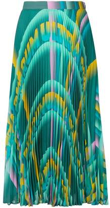 Marco De Vincenzo patterned A-line skirt