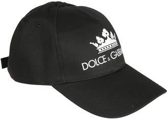 Dolce & Gabbana Logo Print Cap