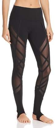 Alo Yoga High-Waist Wrapped Stirrup Leggings