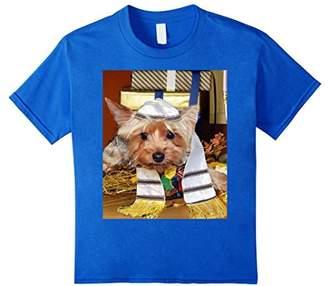Jewish Yorkie Dog T-Shirt Yorkshire Terrier