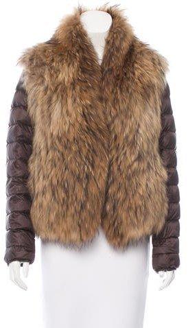 MonclerMoncler Furet Fur Jacket
