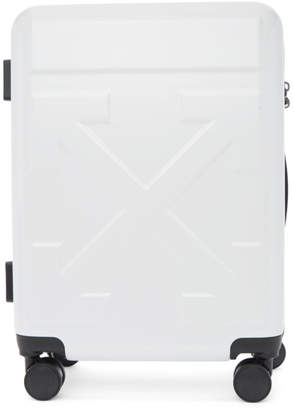 Off-White Off White White Arrows Trolley Carry-On Suitcase