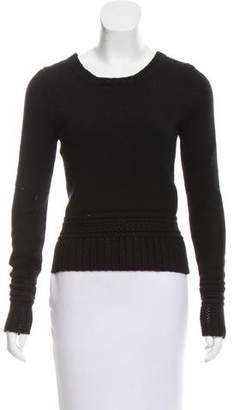 Chanel Silk and Cashmere-Blend Sweater
