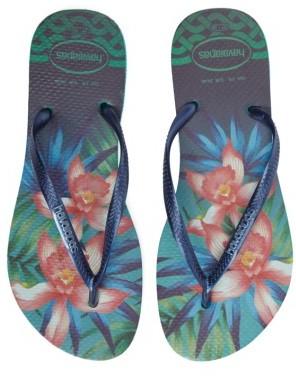 Women's Havaianas 'Slim Tropical' Flip Flop $34 thestylecure.com