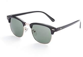 Naivo Women's YJMH072-1 Bronze Metallic Covering Sunglasses