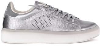 Lotto Leggenda Lotto Impressions Silver Leather Sneaker