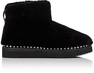 Alexander Wang Women's Yumi Shearling Ankle Boots - Black