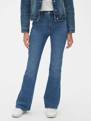 Gap ';70s Pioneer High Rise Flare Jeans