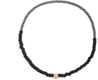 Luis Morais small round All Seeing bead bracelet