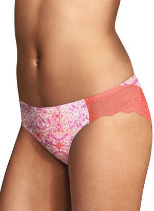 Maidenform Women's Comfort Devotion Lace Back Tanga