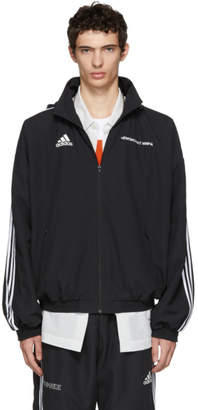 Gosha Rubchinskiy Black adidas Originals Edition Hooded Jacket