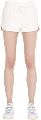 Cotton Jersey Jogging Shorts $101 thestylecure.com