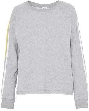 Splendid Printed Cotton-Terry Sweatshirt