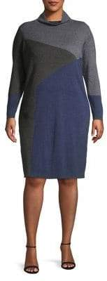 Nic+Zoe Plus Laid Back Sweater Dress
