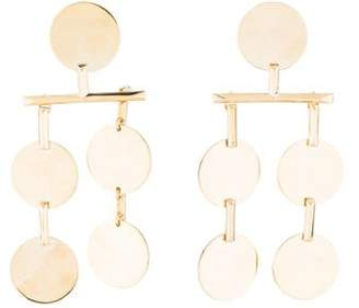 Eddie Borgo Token Chandelier Earrings