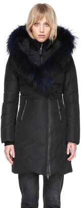 Mackage KAY-F MID LENGTH WINTER DOWN COAT WITH FUR COLLAR