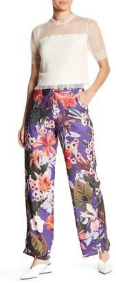 Romeo & Juliet Couture Floral Print Pants