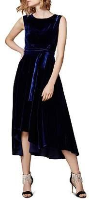 Karen Millen Velvet Belted Dress