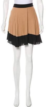 A.L.C. Bi-Color Mini Skirt
