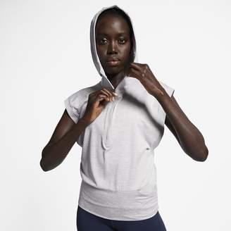 Nike Women's Sleeveless Running Hoodie Element