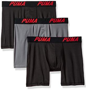 Puma Men's 3 Pack Tech Boxer Brief