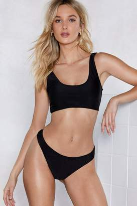 Nasty Gal Heat Advisory Bikini Top