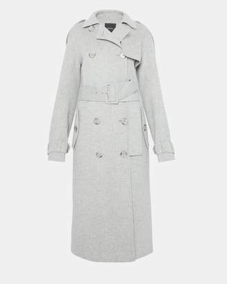 Theory Double-Faced Statement Trench Coat