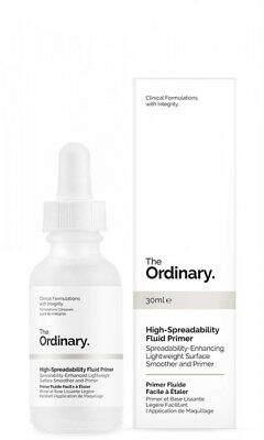 The Ordinary NEW High-Spreadability Fluid Primer 30ml Womens Skin Care