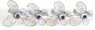Set of 4 Gold Butterfly Napkin Ring