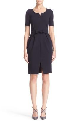 Women's Armani Collezioni Tie Milano Jersey Dress $825 thestylecure.com