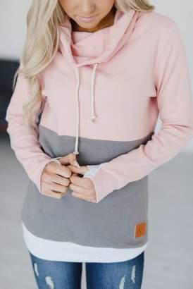 Ampersand Avenue CowlNeck Sweatshirt - Love Affair