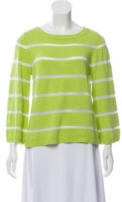 Alice + Olivia Striped Lightweight Sweater