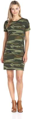Alternative Women's Straight up Camo Print T-Shirt Dress