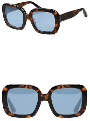 Elizabeth and James Haley 54mm Square Sunglasses