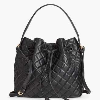 Talbots Soft Pebbled Leather Crossbody Hobo Bag