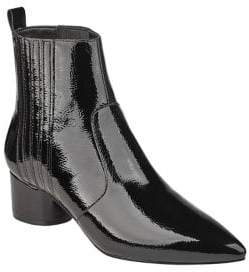 KENDALL + KYLIE Laila Patent Leather Booties