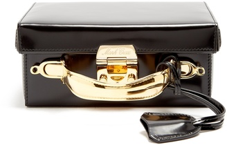MARK CROSS Grace small leather box bag $2,505 thestylecure.com