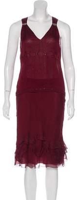 Prada Silk Skirt Set