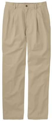 L.L. Bean L.L.Bean Tropic-Weight Chino Pants, Comfort Waist Pleated